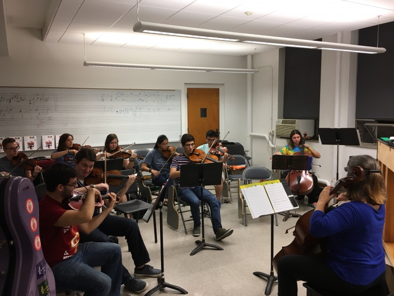 OSU Student ASTA Chapter StringRiffs.com Hootenanny last week