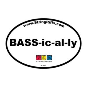 BASS-ic-al-ly Magnet
