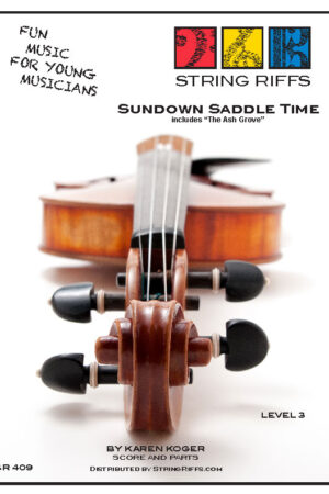 Sundown Saddle Time Front Cover
