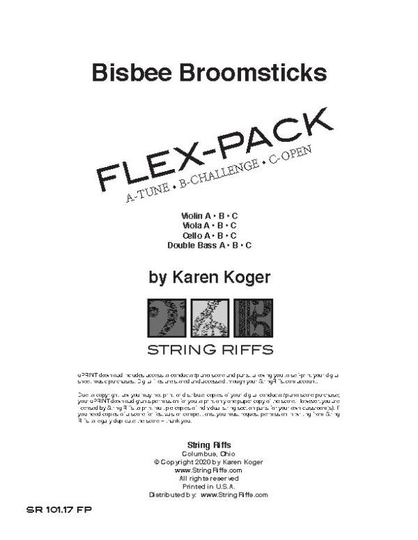 Bisbee Broomsticks Flex-Pack Cover