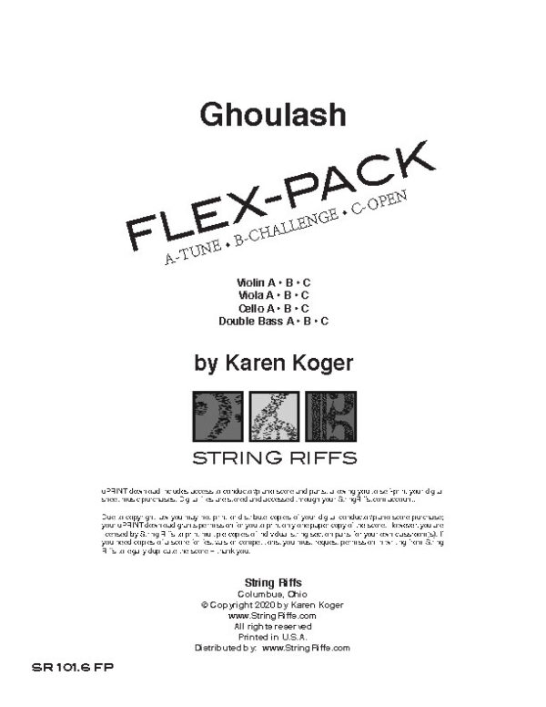 Ghoulash Flex-Pack Cover
