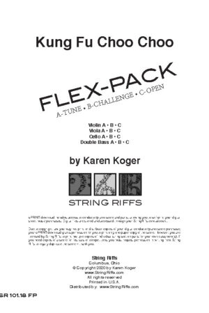 Kung Fu Choo Choo Flex-Pack Cover