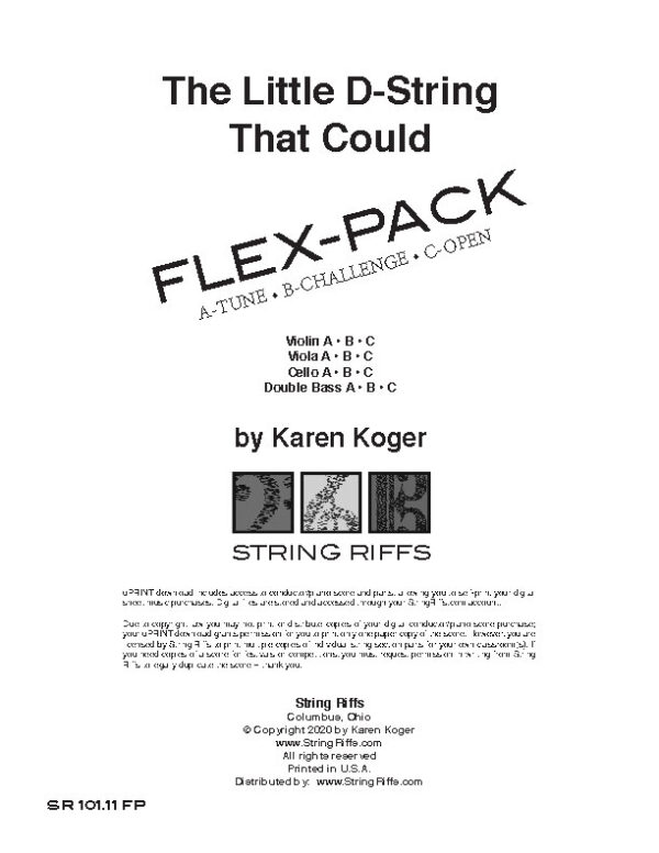 The Little D-String that Could Flex-Pack Cover